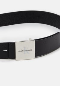 Calvin Klein Jeans - SQUARE PLAQUE UNISEX - Belt - black - 3