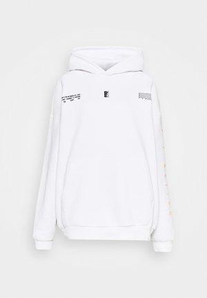 COURTSIDE HOODIE - Sweatshirt - optic white
