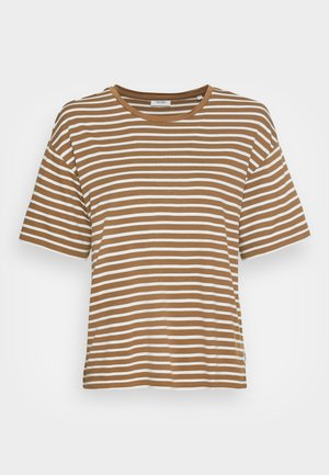 Print T-shirt - multi/brown ochre