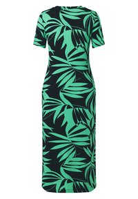 Laurel - Jersey dress - black/green - 2