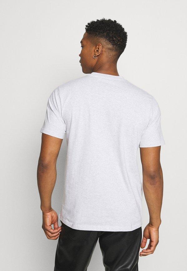 Carhartt WIP DATA - T-shirt z nadrukiem - ash heather/szary Odzież Męska KZCP