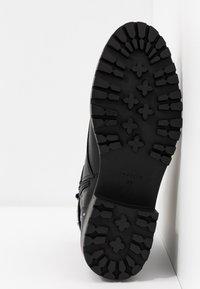 PARFOIS - Cowboystøvletter - black - 6