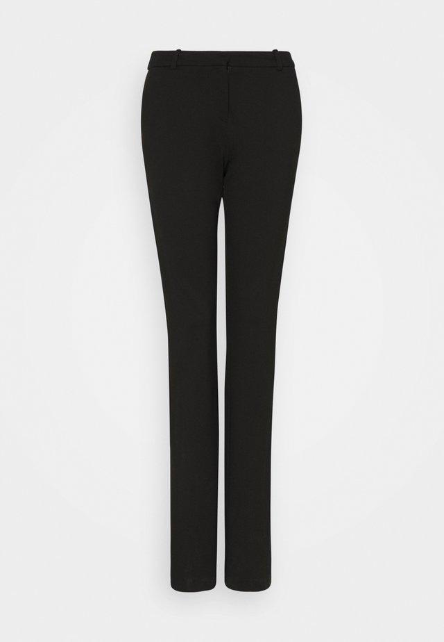 ONLELORA-VIKA FLARE PANT - Spodnie materiałowe - black