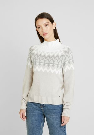 Jumper - white pattern