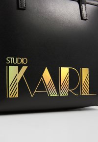 KARL LAGERFELD - SMALL TOTE - Kabelka - black - 6