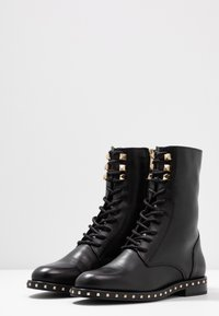 Alpe - FIRENZE - Lace-up ankle boots - black - 4