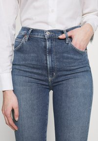 Citizens of Humanity - CHRISSY HIGH RISE - Jeans Skinny Fit - dark-blue denim - 4