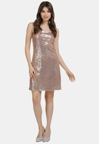 myMo at night - PAILLETTENKLEID - Cocktail dress / Party dress - rosa gold - 1