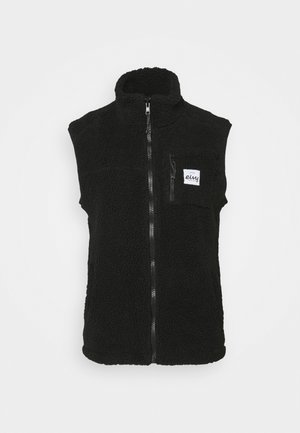 LUMBER - Waistcoat - black
