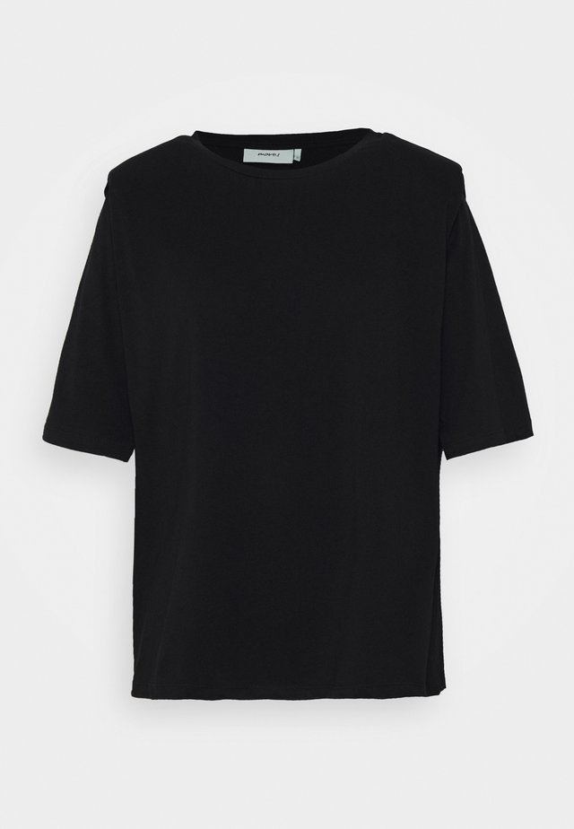 ISMA - Camiseta estampada - black