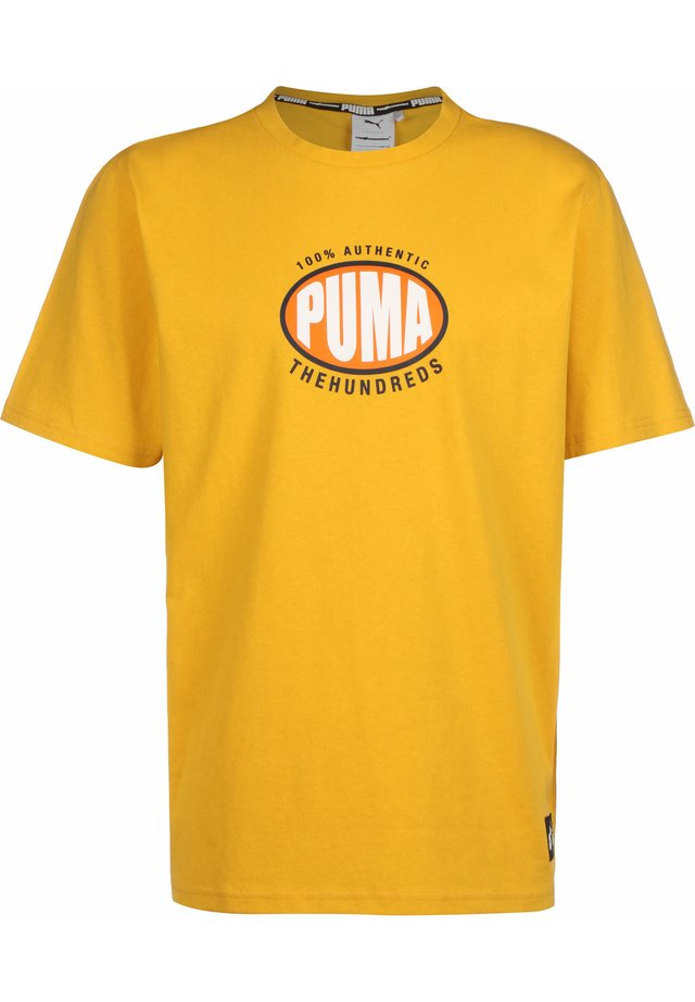PUMA x THE HUNDREDS - Print T-shirt - golden rod