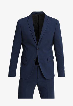 PLAIN MENS SUIT - Oblek - dark blue