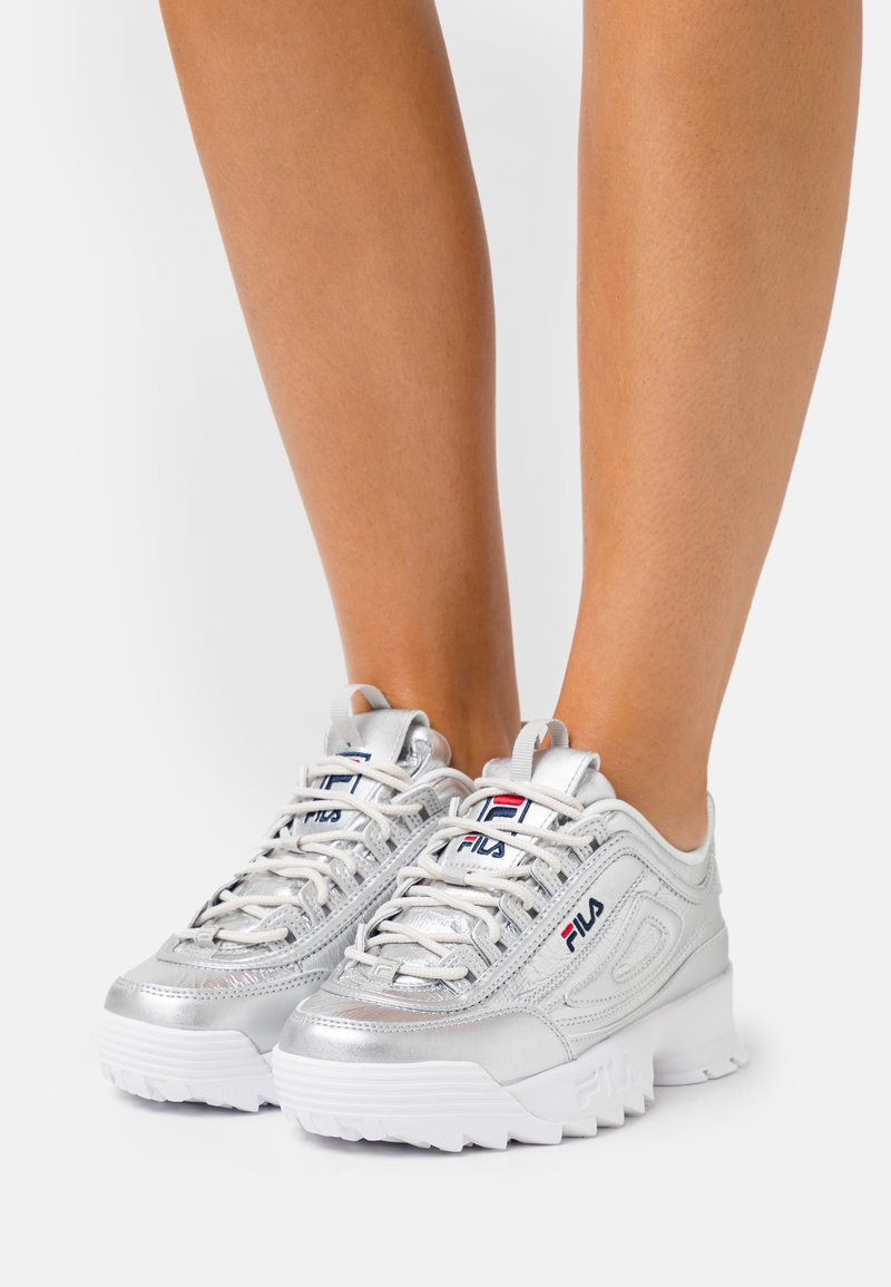 Fila - DISRUPTOR  - Sneaker low - silver
