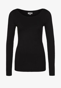 Zalando Essentials - Long sleeved top - black - 4