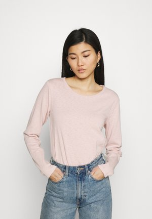 LONGSLEEVE CREWNECK - Long sleeved top - rose