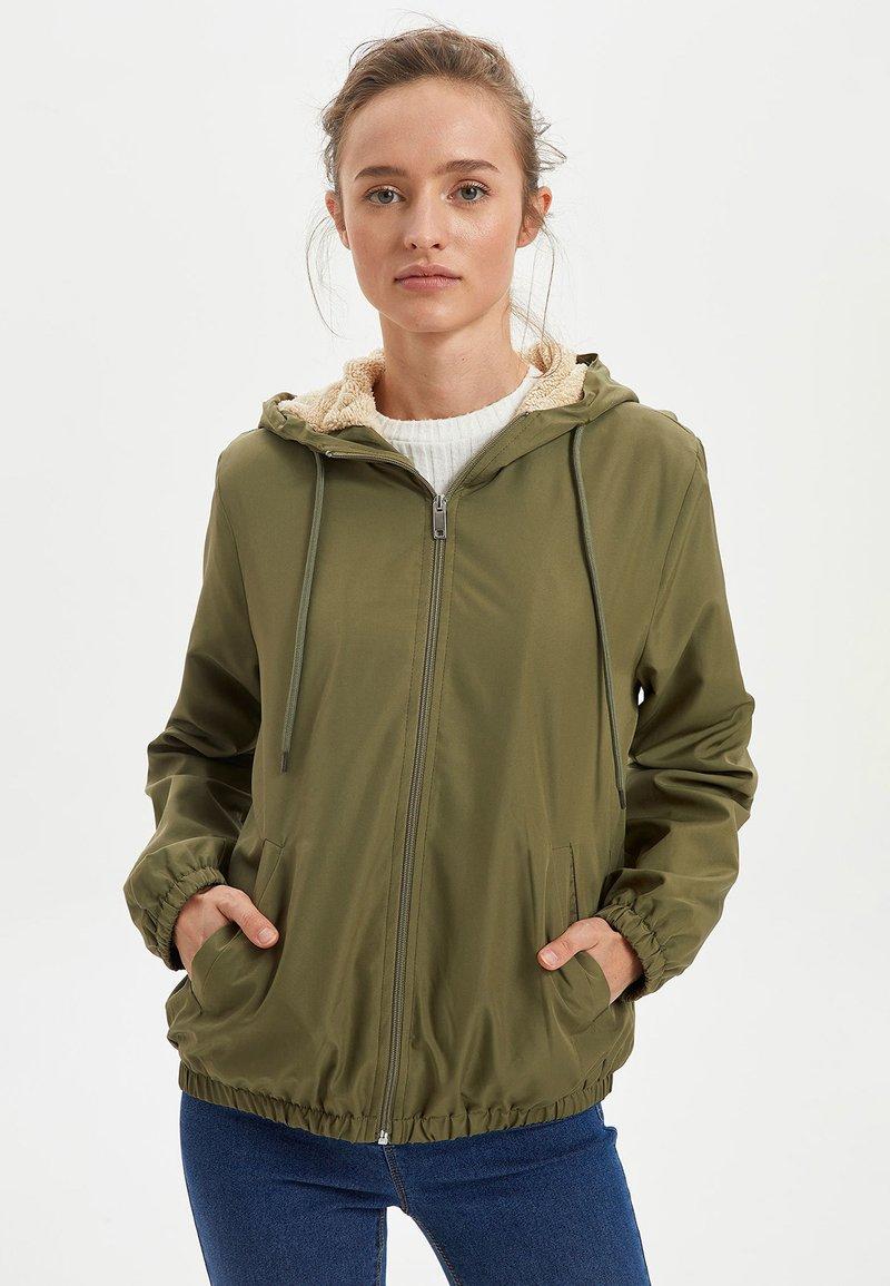 DeFacto - Light jacket - khaki