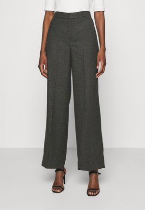 I LINED PANT - Trousers - dark charcoal