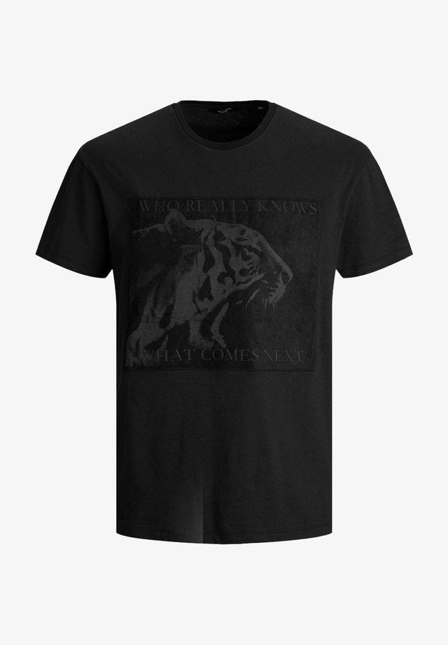 TIGERPRINT - T-shirt imprimé - black