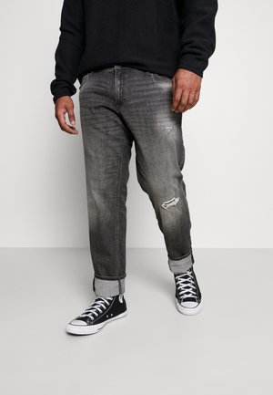 JJIGLENN JJORIGINAL - Jeans a sigaretta - black denim
