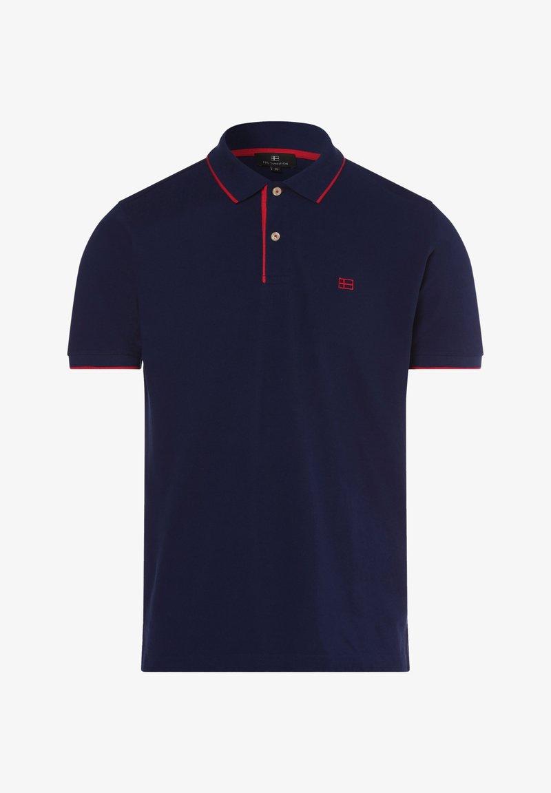 Nils Sundström - Polo shirt - blau