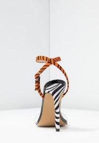 Public Desire - KENDI - Sandály na vysokém podpatku - black - 5