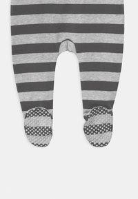 Cotton On - LONG SLEEVE ZIP - Dupačky na spaní - cloud marle/graphite grey - 3
