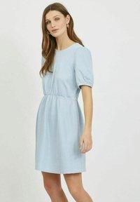 Vila - Day dress - cashmere blue - 0