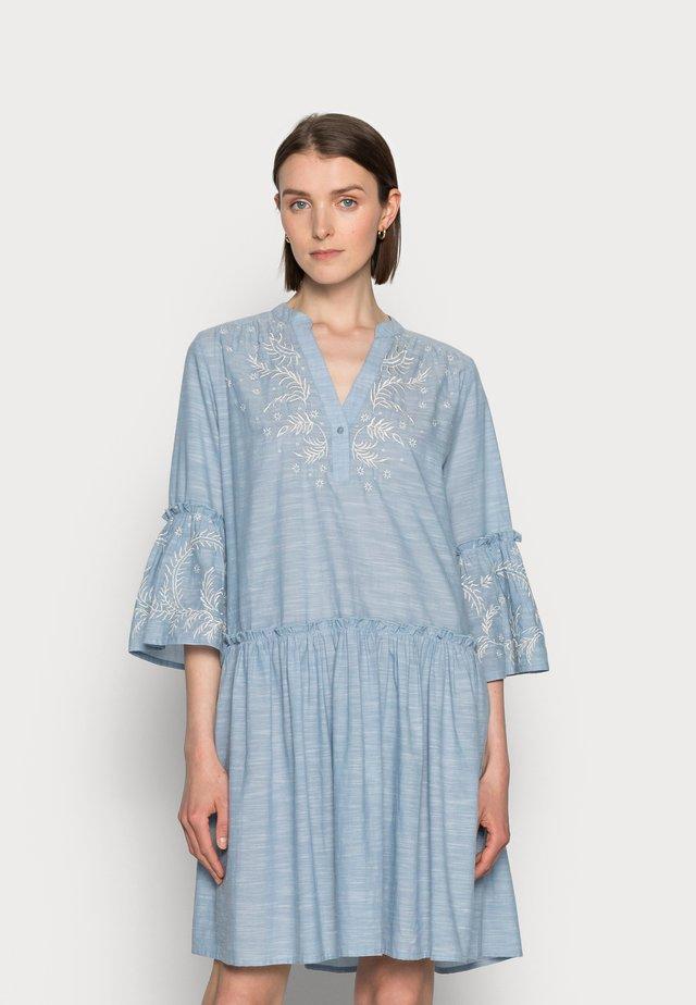 SOPHIA - Day dress - dusky blue