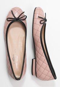 Brenda Zaro - CARLA - Ballet pumps - rose/black - 3