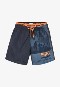Sanetta - SWIM TRUNKS  - Swimming shorts - ombre blue - 3