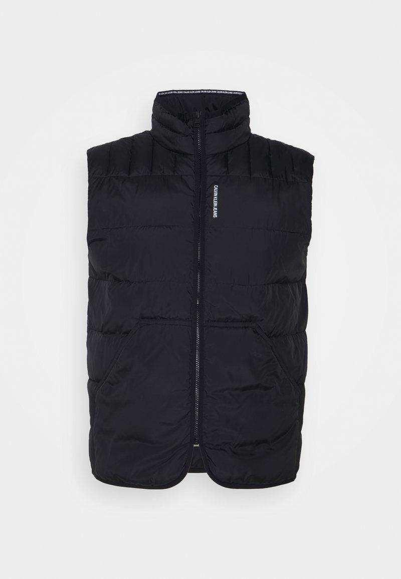 Calvin Klein Jeans - PADDED VEST - Waistcoat - black