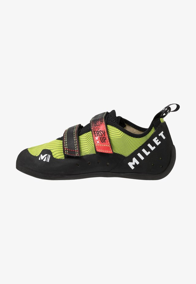 EASY UP - Climbing shoes - green moss