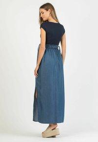 Attesa Maternity - GAIA - Maxi dress - blue - 2