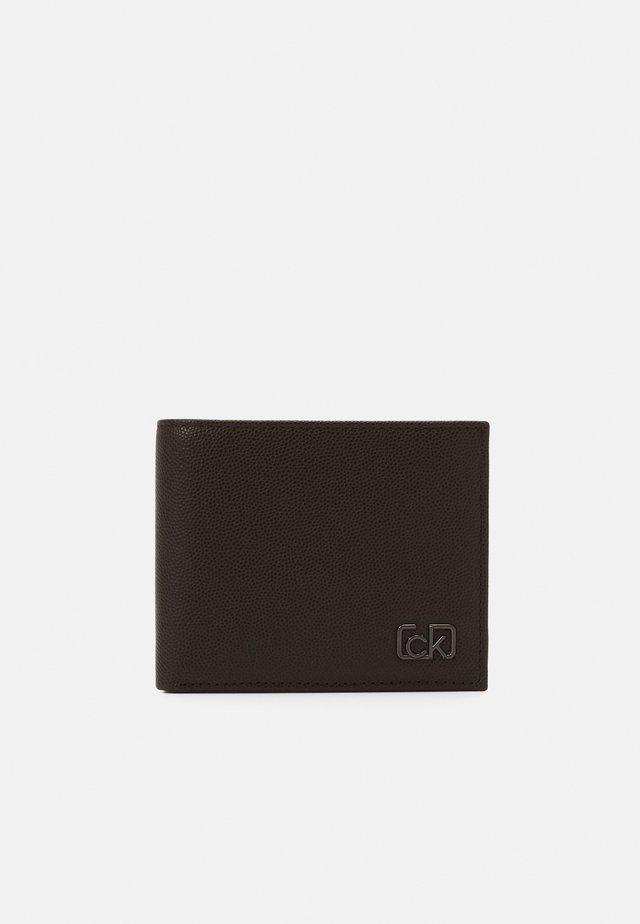 BIFOLD COIN - Portafoglio - dark brown