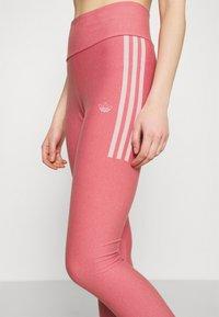 adidas Originals - TIGHTS - Leggings - Trousers - hazy rose/white - 3