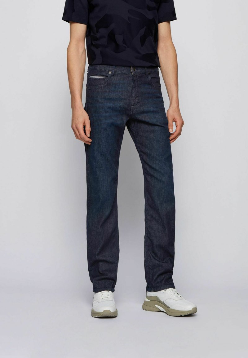 BOSS - ALBANY - Relaxed fit jeans - dark blue