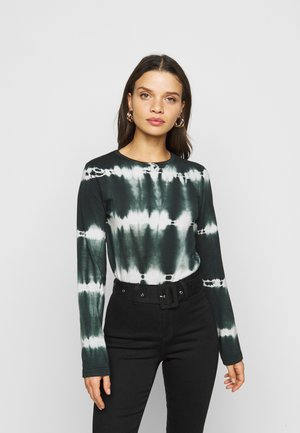 TIE DYE  - Long sleeved top - charcoal