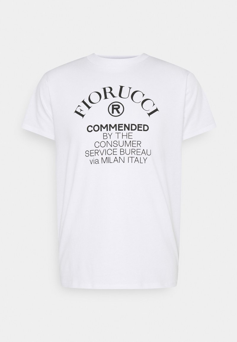Fiorucci - COMMENDED - Print T-shirt - white