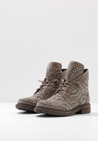 Alma en Pena - Lace-up ankle boots - taupe - 4