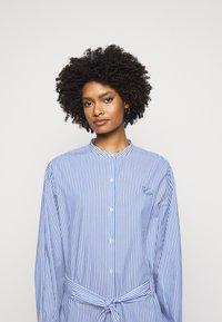 Maison Labiche - DRESS GOOD VIBE - Shirt dress - white/blue - 3