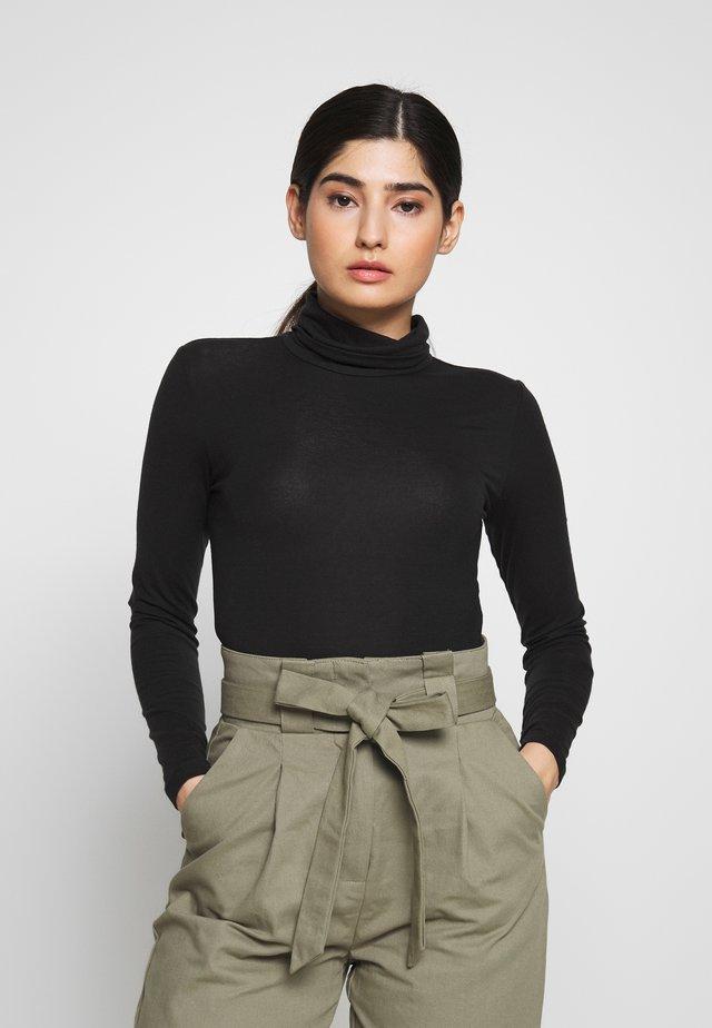 VMAVA LULU ROLLNECK - T-shirt à manches longues - black