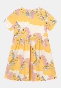 Mini Rodini - UNICORN NOODLES - Žerzejové šaty - yellow - 1