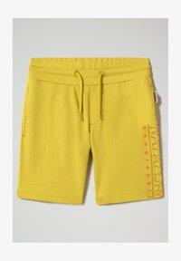 Napapijri - NADYR - Shorts - dark yellow - 0