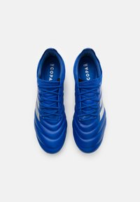 adidas Performance - COPA 20.1 FOOTBALL FIRM GROUND - Moulded stud football boots - royal blue/silver metallic - 3
