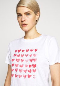 J.CREW - MOTHERS DAY TEE - Print T-shirt - white - 3