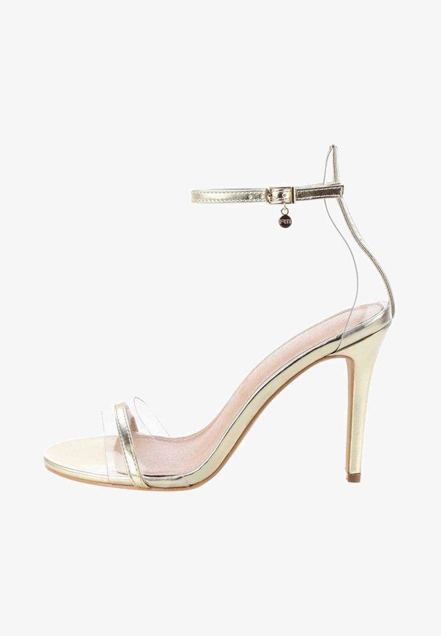 LABALDA - High heeled sandals - gold