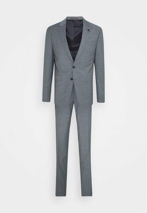SLIM FIT SUIT - Suit - ice blue heather