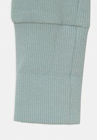 Lindex - SOLID 2 PACK UNISEX - Leggings - Trousers - light dusty aqua - 4