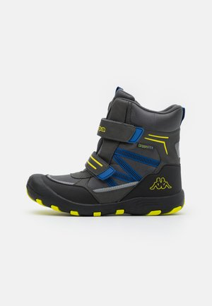 TEX UNISEX - Snowboot/Winterstiefel - grey/lime