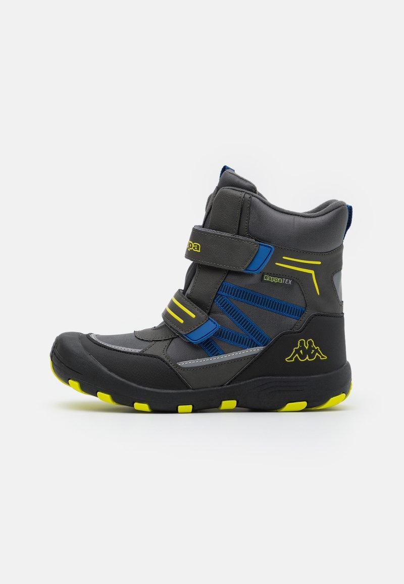 Kappa - TEX UNISEX - Zimní obuv - grey/lime